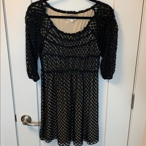 Empire waist stretch dress